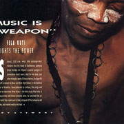 Fela Kuti, Option Magazine