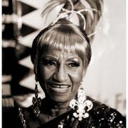 """A Little Wiggy!"", Celia Cruz (1994-2003), Record Release Press Conference, Hard Rock Cafe, NYC 1994"