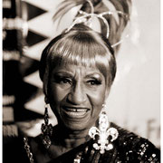 """A Little Wiggy!"", Celia Cruz (1994-2003), Record Release Press Conference, Hard Rock Cafe, NYC 1994"