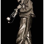 """Miles of Miles"", Miles Davis (1926-1991), Kool Jazz Festival, Saratoga, NY 1985"