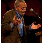 Amiri Baraka or Leroi Jones, Butch Morris Memorial, Orensanz Foundation, New York City 2013