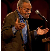 Amiri Baraka or Leroi Jones, Butch Morris Memorial, Orensanz Foundation, New York City 2013