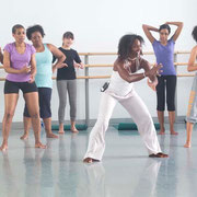 Leslie Salmon Jones, Yoga Flow, Alvin Ailey, New York City, 2013