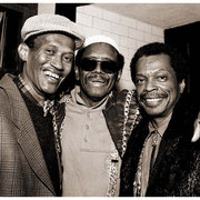"""""""Happily Ever After"""", Don Cherry (1936-1995), Ed Blackwell (1929-1992), Don Pullen (1944-1995), Blackwell Project, Riverside Church, NYC 1990"""