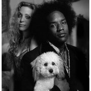 Wendy Oxenhorn, Ladell McLinn and Buster, NYC 2003