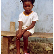 Girl Benched, Jamaica, W.I. 2003