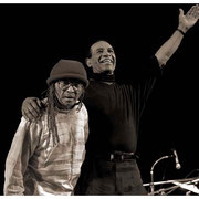 """10 Year Reunion"", Cecil Taylor and Max Roach (1924-2007), Town Hall, NYC 1989"