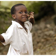 Schoolyard Boy, Barbados Island Safari Tour 2004