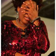 Macy Gray, Jazz Foundation Loft Party, NYC 2015