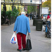 Old Lady, Hell's Kitchen, New York City 2007