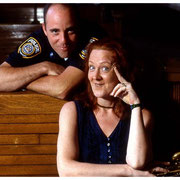 Claire Daly and Poughkeepsie Cop, NY 2000