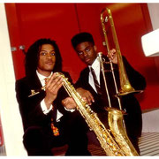 Walter Blanding, Jr. and Jamal Akili Haynes 1991