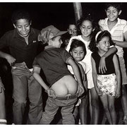 Precocious Children, Full Moon Over Jersey City, Erie Street, Jersey City, NJ 1987