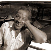 """""""Flew Home in His Car"""", Illinois Jacquet (1922-2004), Jamaica, Queens, NY 1988"""