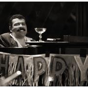 """Happy Hilton"", Hilton Ruiz (1952-2006) Blue Note Jazz Club 8th Anniversary, NYC 1989"