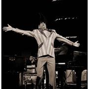 """Jumpin' For Jazz"", Ray Charles (1930-2004), Atlanta Merchandise Mart 1983"