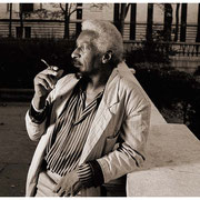 """Radiant, Real, Remarkable Mal"", Mal Waldron (1925-2002), Bryant Park, NYC 1987"