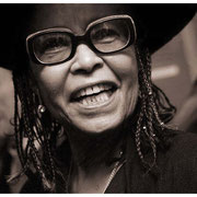 """""""Zoe Anglesey Adored Abbey"""", Abbey Lincoln, Great Night in Harlem, Apollo Theater, NYC 2002"""