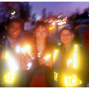 Candlelight Vigil, West Side Highway, New York City 2001