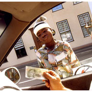 Young Car Beggar, Johannesburg, South Africa 2003