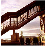 Claire Daly, (JJA Best Photo of they Year 2002), Train Station, Peekskill, NY 2000