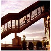 Claire Daly, (JJA Best Photo of they Year 2002), Train Station, Peekskill, NY 2000