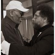 Randy Weston and Cornell West, Jazz Foundation Loft Party, NYC 2016