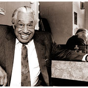 """""""It's a Pleasure to Meet You"""", Cab Calloway (1907-1994), New School, NYC 1990"""