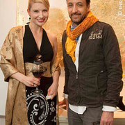 Tarra Bandet & Friend, Richard Massey LLC, Gallery, Opening Reception, New York City, 2014