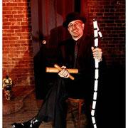 Bobby Sanabria, East Village, NYC circa late 90's