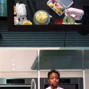 Cooking Demo, Architectural Digest Home Design Show, Pier 94, New York City 2010