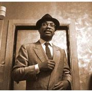 Herbie Hancock, Backstage, Blue Note, NYC 1987