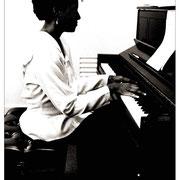 Geri Allen (1957–2017) Backstage, Carnegie Hall, NYC 1990