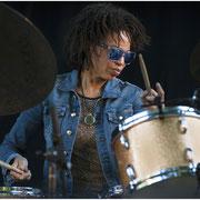Cindy Blackmon, Charlie Parker Jazz Fest, Tompkins Sq Park, NYC 2014