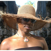 Lawan Randall at the Ruins, Barbados Jazz Festival, Farley Hill National Park, Barbados 2004