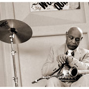 """Running Out of Time"", Benny Carter (1907-2003) Charlie Parker Festival, NYC 1997"