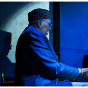 Randy Weston, Jazz Journalists Association Awards Party, Blue Note, NYC 2015