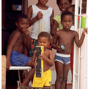 Jamaican Children Sharing Their Story, Jamaica, W.I. 2003