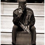 """Dewey Knew"", Dewey Redman, Ed Blackwell Memorial, St. Peters Church, New York City 1992"