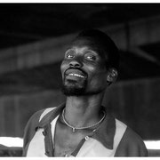 Smiling Medicine Man, Victoria Street Market, Durban, South Africa 2003