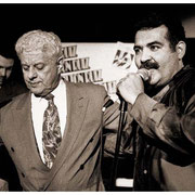 """""""Compardres of the Sounds of Music"""", Tito Puente & Hilton Ruiz, Blue Note, New York City 1995"""