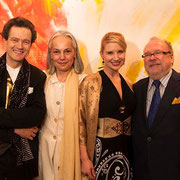 Rudolph Leitner-Gruendberg & Wife, Tarra Bandet & Richard Massey, Richard Massey LLC, Gallery, Opening Reception, New York City, 2014
