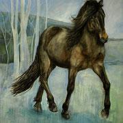Kiljan, Acryl auf Leinwand, 170 x 200 cm, 2009