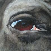 Hetja, Öl auf Baumwollgewebe, 18 x 24 cm, 2006