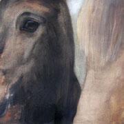 Valur und Thröstur, Öl auf Baumwollgewebe, 45 x 70 cm, 2006