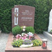 Einzelgrabstein Vanga  neuer Friedhof Sacsen b. Ansbach