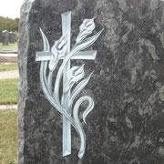 Cala mit Kreuz
