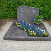 Doppelgrab Paradiso Friedhof Windsbach