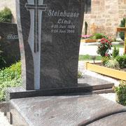 Einzelgrabstein Paradiso alter Friedhof Sachsen b. Ansbach