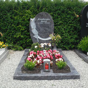 Einzelgrabstein Orion neuer Friedhof Sachsen b. Absbach